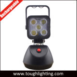 15W Magnetic Rechargeable Switch on/off LED Work Lamp