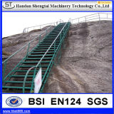 Full Coated Galvanized Steel Bar Manhole Ladder Step