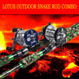 Superstrong Snake Rod Combo Overhead Reel