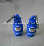 Full 3D Gas Oil Bottle Key Rings