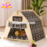 Portable Small Wooden Cat Tent for Indoor and Outdoor W06f074