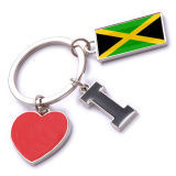 New Custom Metal Souvenir Jamaica Keyring