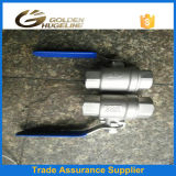Casting Stainless Steel 2 PC Thread Ball Valve