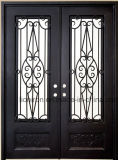 Rustic Front Door Security Iron Doors for Private House