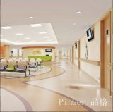 Hospital Wall Sheet System Plastic Handrails