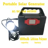 Auto Portable Lithium Power Generator Solar Charger 100W