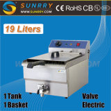 Commercial Kitchen Double Tank Electric Deep Fchips Fryer Oven