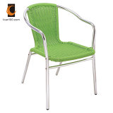 Eco-Friendly Material Outdoor Garden Patio Wicker Rattan Furniture Cheap Aluminum Stackable Chair