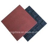Colorful Wearing-Resistant Rubber Tile
