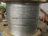 Galvanized Steel Wire Rope 6*12+7FC -4mm High Quality, Attractive Price