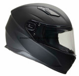 Matt Black Double Visor ECE Certification ABS Motorcycle Helmet