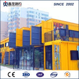 Modular Mobile Flat Pack Sandwich Panel Prefab Container House for Shopping Mall