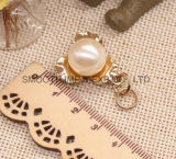 Pearl Bead Rhinestone Zipper Puller DIY Bag Garment Jewelry Accessories