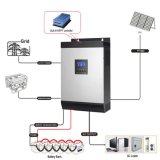 Convertisseur solaire PV à haute fréquence 5kVA 4kw 48V DC à 240V AC pour système d'alimentation de secours à domicile