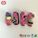 Pink and Black Custom Seatbelt Cover Car Baby Essential Toy
