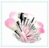 Professional Hot Pink Synthetic Hair Makeup Brush Factory Wholesale