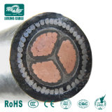 0.6/1kv Copper Conductor XLPE Insulated Galvanized Steel Wire Outdoor Armoured Cable