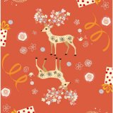 Packaging Paper for Christmas Gift Wrapping