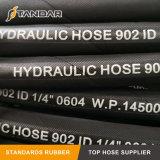 Fiber Braided Pressure Hydraulic Transmission Oil Cooler Rubber Hose