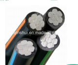 Aerial Bundled Twisted Pair Aluminum Wire ABC Power Cable