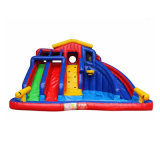 Colorful Backyard Inflatable Water Slide for Kids Chsl367