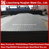 A36 Ms Chequered Steel Plate/Carbon Checkered Steel Plate