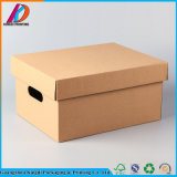 Foldable Kraft Paper Document Storage Packaging Box with Lid