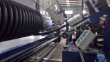Porfiled Wall Spiral Winding Pipes Production Line (HDPE)