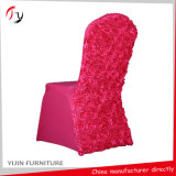 Spandex Rosette Wedding Seat Banquet Chair Cover (YT-01)