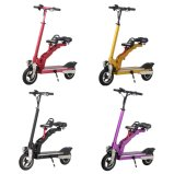 Electric Foldable Two Wheels Skateboard Scooter with Child Seat
