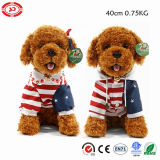 Terry Teddy Dog Colors Option Plush Sitting Stuffed Toy