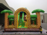 Inflatable Zoo Theme Combo Amusement Park for Kids