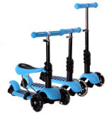 Foldable Children Kids T-Bar Push Foot Scooter