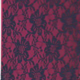 100% Nylon Lace Fabric (carry oeko-tex standard 100 certification)