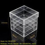 Wholesale 1 Hole Clear Acrylic Flower Rose Display Packaging Box