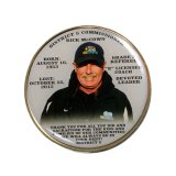 Wholesale Custom 2019 Gold Silver Character Donald Trump Challenge Coin