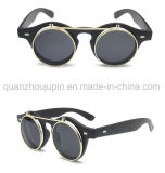 OEM Hot Sale Plastic Fashion Round Flip up Sunglasses