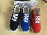 Light Weight Van Style Low Ankle Fashion Unisex Casual Shoelace Canvas Shoes
