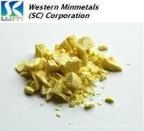 High Purity Sulfur (sulphur) 5N 6N at Western Minmetals