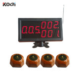 Wireless Calling Pager System for Restaurant with Ce 433MHz Best Price Long Range Distance
