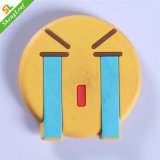 Yellow Crying Face Rubber Cute Fridge Magnet