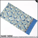 Men Silk Printed Double Side Scarf