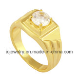Stylish Design One Stone Diamond Ring for Party