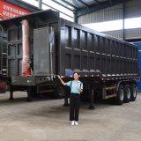 3 Axles 35 Cubic Meter 40/60/80/100 Ton Hydraulic Rear End Tipping Unloading Dumper Rock Dump Trailer Truck Semi Tipper Trailer for Sale Price