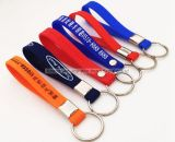 Promotional Silicone Key Holder, Debossed Silicone Key Chains