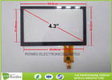 4.3 Inch Capacitive Touchscreen P + G Structure Multi Touch with I2c Interface