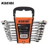 Ratchet Wrench Set CRV Ratchet Combination Spanner Set for Repair