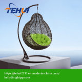 Th17052 Outdoor Furniture Relaxing Patio Round Hanging Egg Swing Chair for Garden Patio Home Hotel