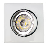 Aluminum Die Casting GU10 MR16 Square Tilt Recessed LED Spot Down Light (LT1201)