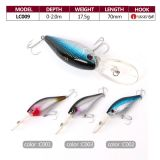 Low Price Fishing Hard Crankbait Lure LC009